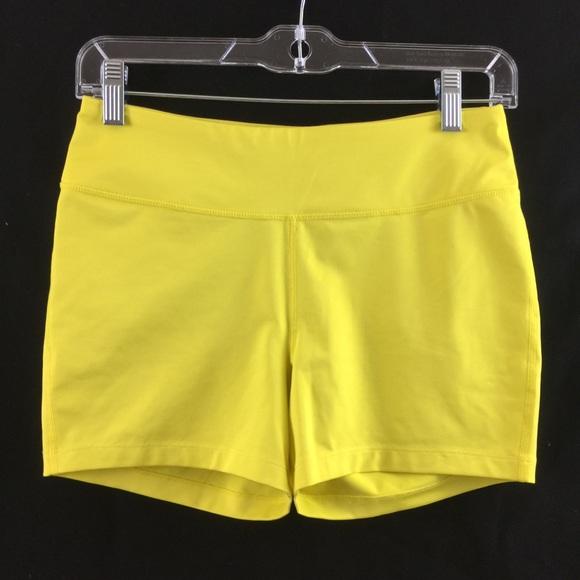 Fila Pants - Fila yellow sports shorts Size Small (EUC)